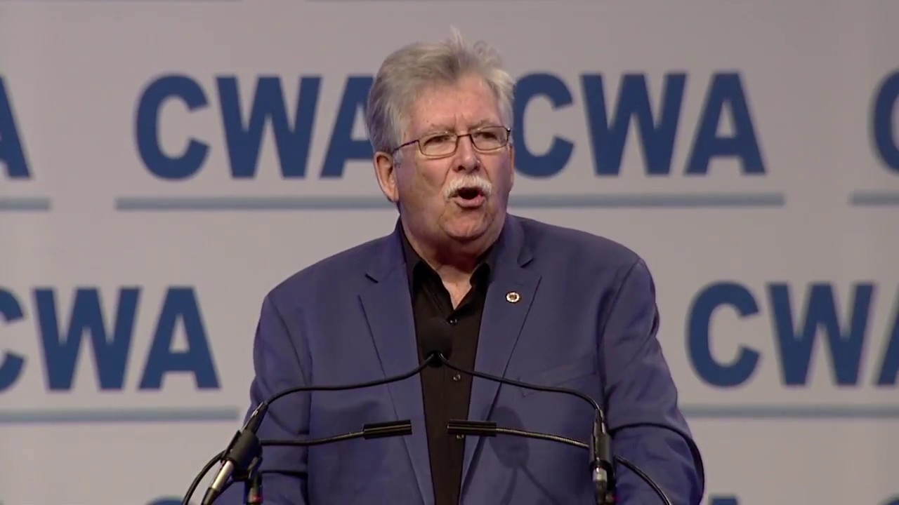 CWA President Chris Shelton Addresses The 76th CWA Convention