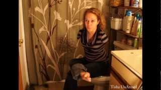 everyone poops! hilarious  how to wipe without arms