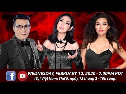 Livestream Valentines với Ý Lan, Anh Dũng, Ngọc Anh - February 12, 2020