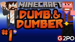 Dumb and Dumber on Minecraft - Welcome to Castaway Island Ep.1