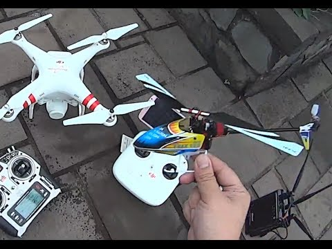 Align Trex 150 DFC  combo maiden flight and almost crash proof!