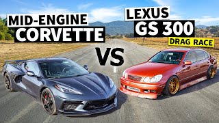 Is Hert's 600hp GS300 Faster Than a C8 Corvette? // This vs. That
