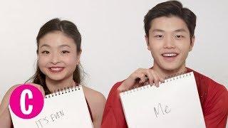 Olympic Ice Dancers Maia & Alex Shibutani Play The Newlywed Game | Cosmopolitan