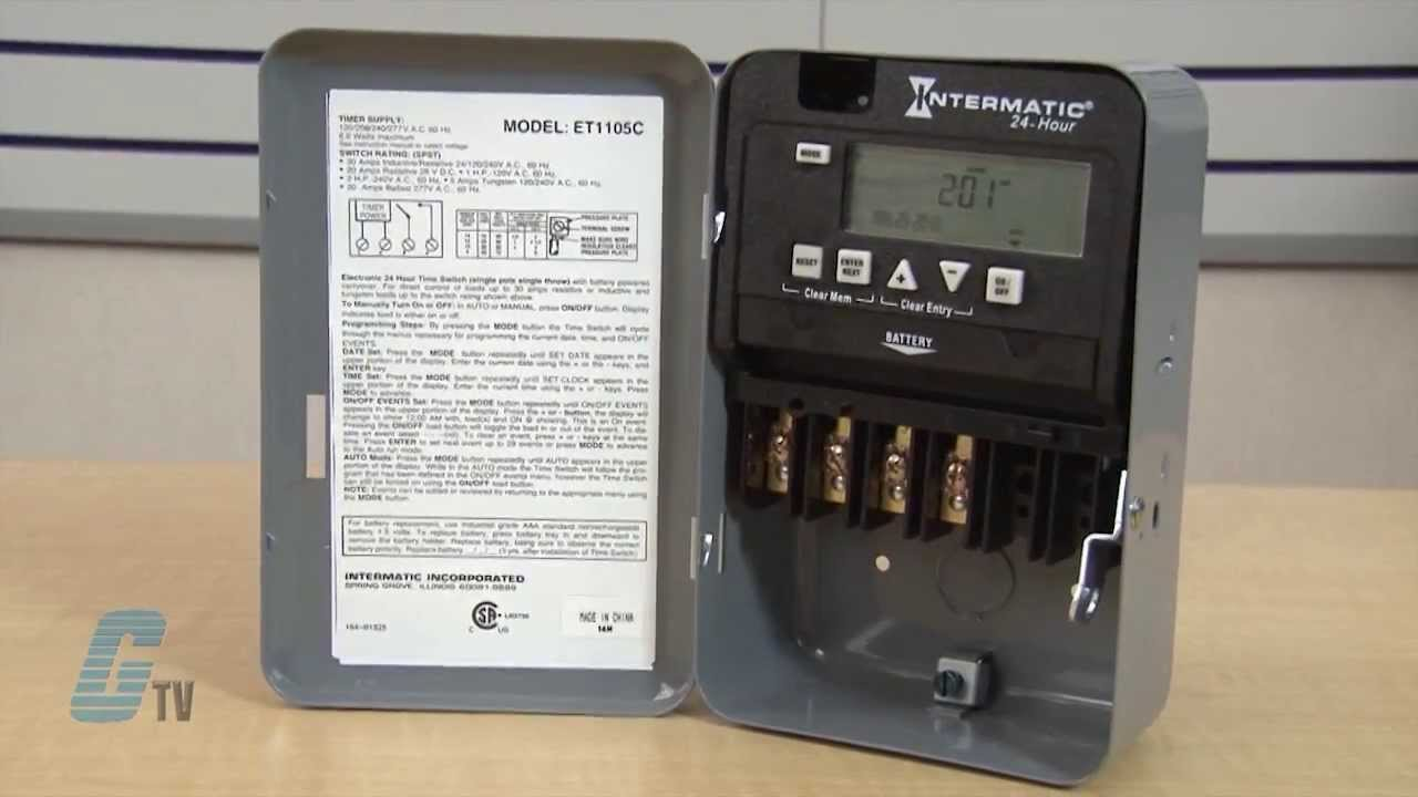 Wiring An Intermatic Wall Timer In A Three Way Switchintermaticst01