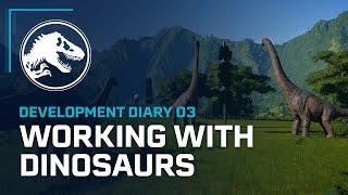 Jurassic World Evolution - Fejlesztői Videó: Working with Dinosaurs