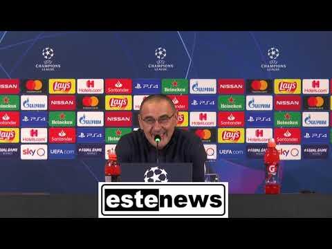 Juventus-Atletico Madrid 1-0, la conferenza di Sarri