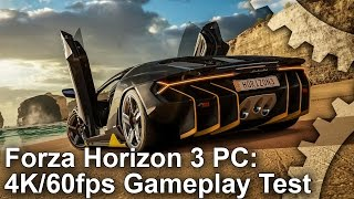 Forza Horizon 3 - 4K 60fps Gameplay