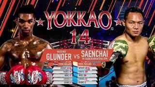 YOKKAO 14: Saenchai PKSaenchai Muay Thai Gym vs Massaro Glunder @yokkaoboxing