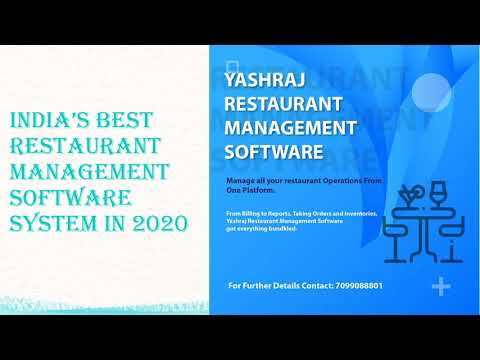 Get Restaurant Management Software System in India
