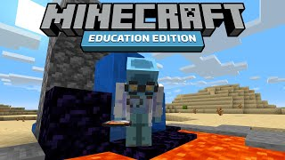I Tried to Speedrun Minecraft Education Edition