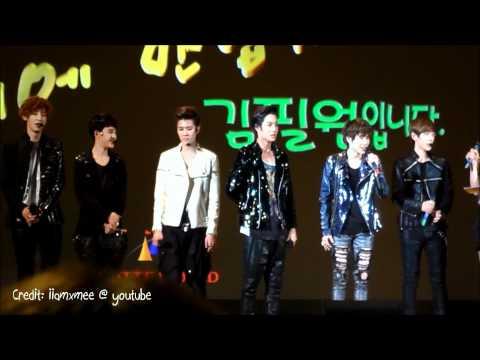[HD FANCAM] [ENG SUBBED] 120526 EXO-K CBS FM @ Lotte World Concert (롯데월드 콘서트)