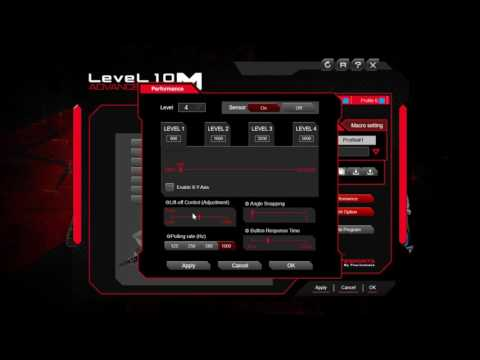 Level10 M Advanced Software Overview