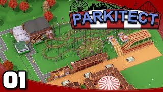 Parkitect - Ep. 1: A New Builder's Game! | Parkitect Gameplay