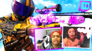 Killing Twitch Streamers in COD Search and Destroy (funny reactions)