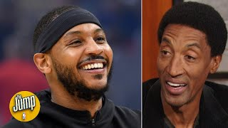Scottie Pippen is happy Carmelo Anthony is back in the league | The Jump