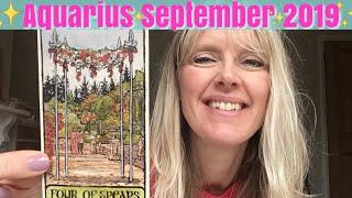 Aquarius ~ A Chance For Resurrection ~September 2019