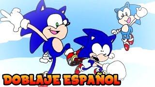 Modern & Classic Sonic Meet Dreamcast Sonic in 2017 [Fandub Español]