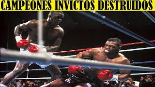 Top 10 Palizas Dadas a Campeones Invictos