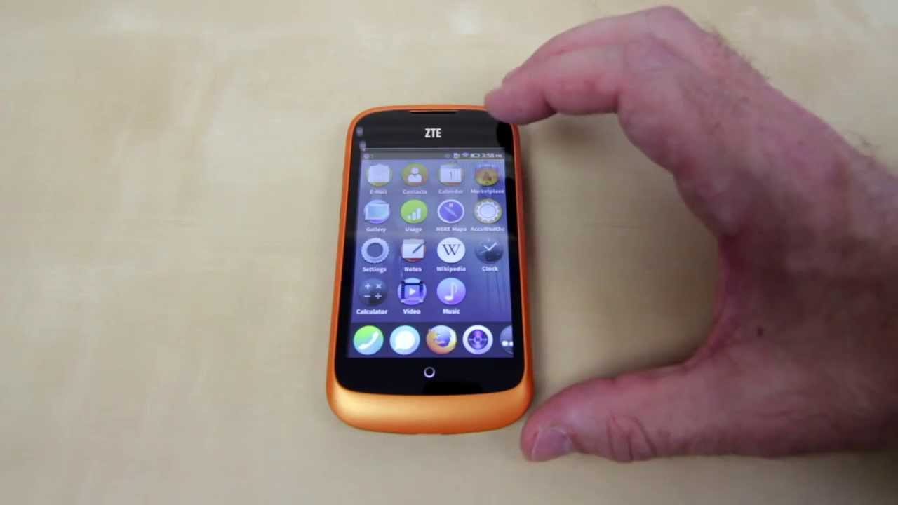 ZTE Open Firefox OS Phone Unboxing And Initial Impressions - Smashpipe Tech