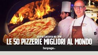 Le classifica delle 50 migliori pizzerie in Italia e nel Mondo