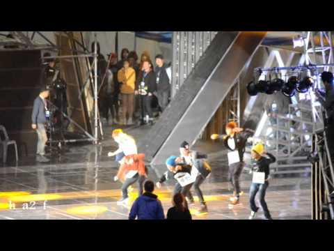 [fancam] 130510 EXO Dream Concert 2013 Rehearsal 드림콘서트 리허설 part5 (MAMA+History)