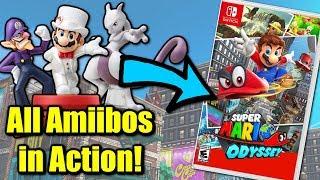 Super Mario Odyssey - What do ALL Amiibos do?