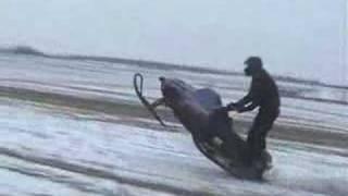 Carreras de motos de nieve