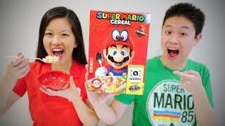 HANDS ON! SUPER MARIO CEREAL with amiibo Function [Super Mario Odyssey]