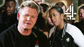 Ramsay SPEECHLESS After Chef Insults His Palete! | Ramsay's 24 Hours to Hell and Back