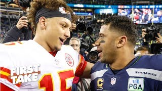 Patrick Mahomes isn't a lock for MVP with Russell Wilson around – Stephen A.   First Take