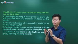 Đề thi thử THPT Quốc gia môn Sinh năm 2019 – Đề số 1 - Thầy Nguyễn Đức Hải