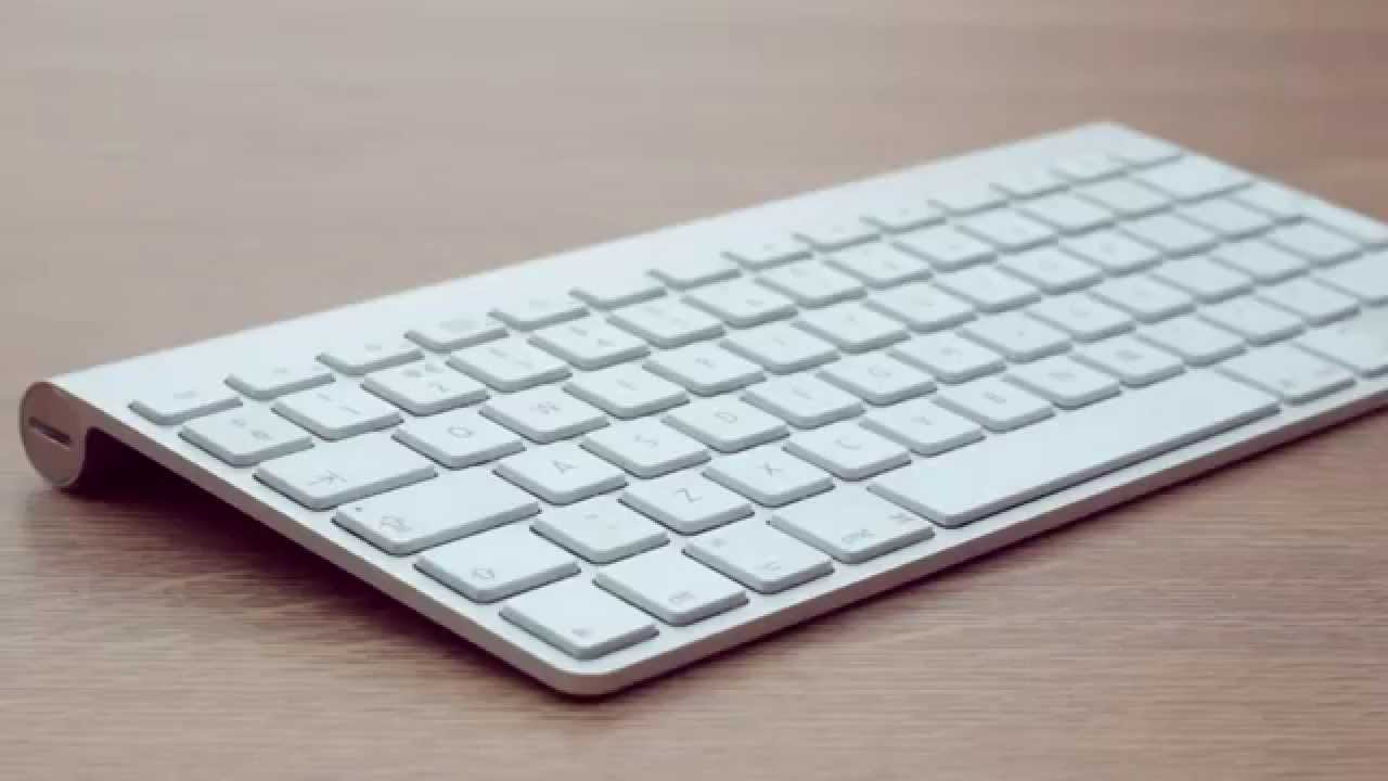 apple wireless keyboard review youtube. Black Bedroom Furniture Sets. Home Design Ideas