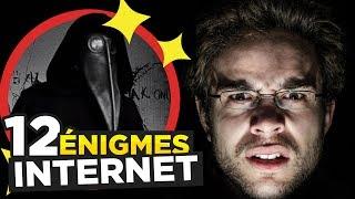 12 ÉNIGMES TERRIFIANTES d'INTERNET