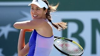 [HD] Ana Ivanovic vs Yulia Putintseva Indian Wells 2015 Highlights