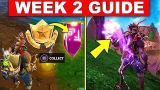 Fortnite WEEK 2 CHALLENGES GUIDE! – BATTLE STAR REPLACED, USE SHADOW STONES, VISIT CORRUPTED AREAS