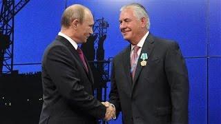 Tillerson and Putin: When the Oilman Met the Strongman