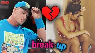 IS JOHN CENA AND NIKKI BELLA THE LATEST WWE COUPLE TO BREAK UP?!? (JOHN CENA COMMENTS)