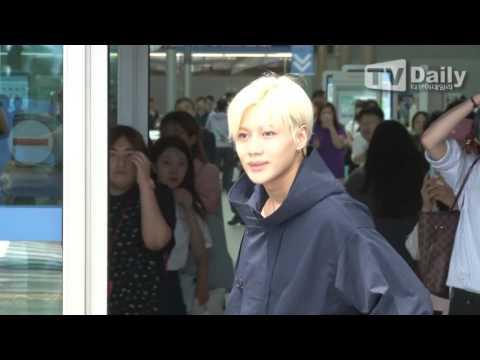 [tvdaily] ★샤이니 태민★ 계절을 앞서가는 '공항패션'