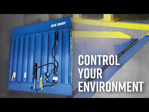 Blue Giant VL Vertical Storing Dock: Drive-Through Application