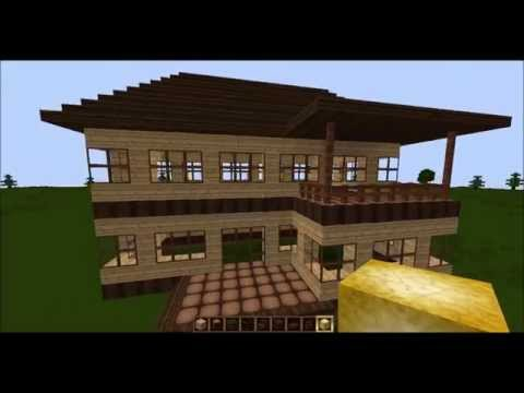 Minecraft Tutorial Mittelalter Holzfäller Teil VideoMovilescom - Minecraft altmodische hauser bauen