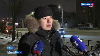 За сутки в Омске уже вывезли более 9 тысяч кубометров снега