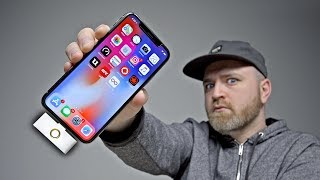 The iPhone X Home Button... Is This Real Life?