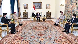 -الرئيس-السيسي-يستقبل-وزير-دفاع-الجمهورية-اليمنية