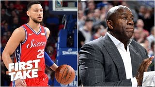 It's perfectly reasonable for Ben Simmons to want to meet Magic Johnson – Max Kellerman | First Take