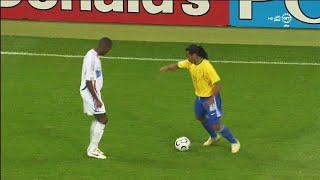 호나우지뉴가 경기 중에 외계 기술을 사용해버린 순간들 - 브라질