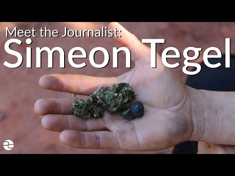 Meet the Journalist: Simeon Tegel