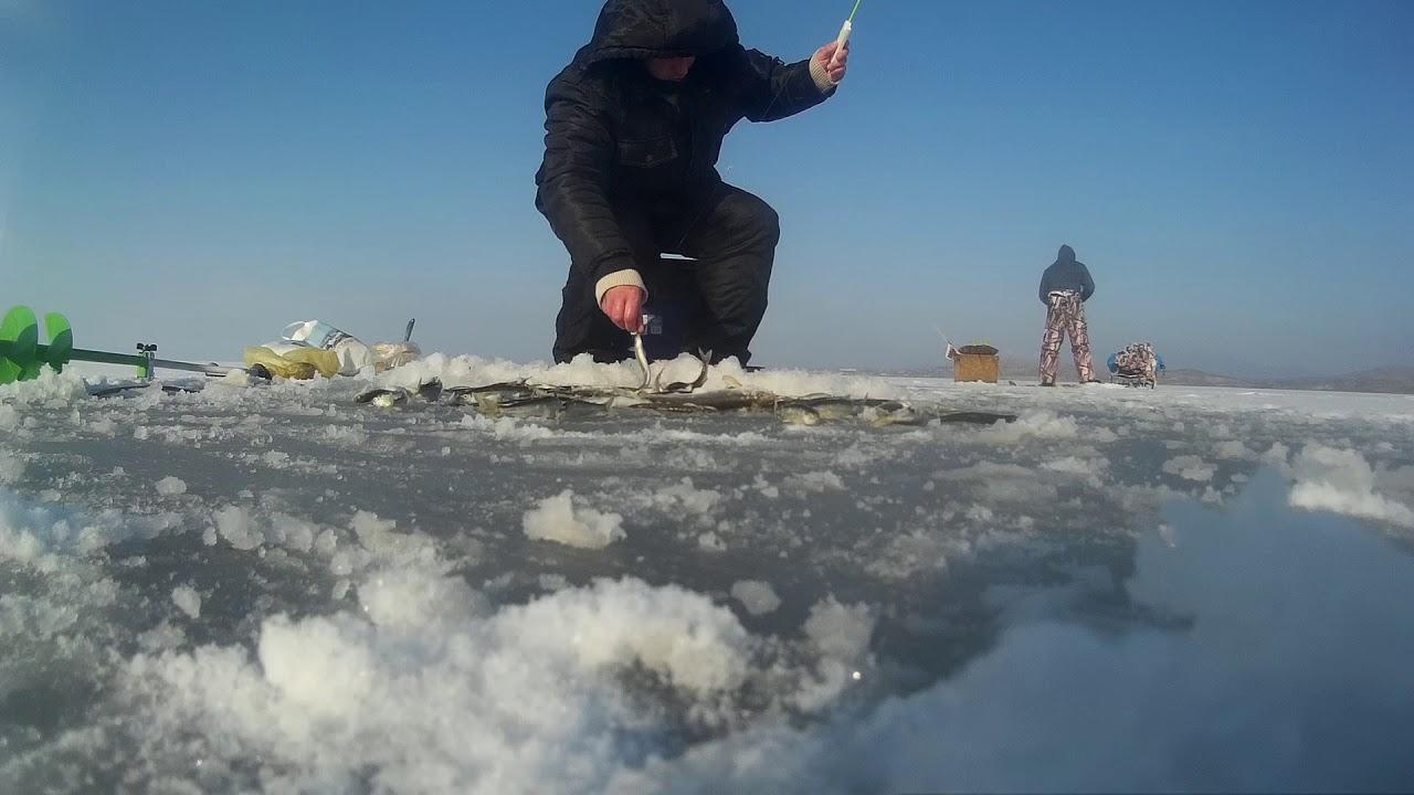 Зимняя рыбалка в посьете приморский край