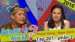 Hạnh phúc của chàng nông dân lên phố tìm được bạn gái | Thanh Hưng - Ngọc Oanh | BMHH 207