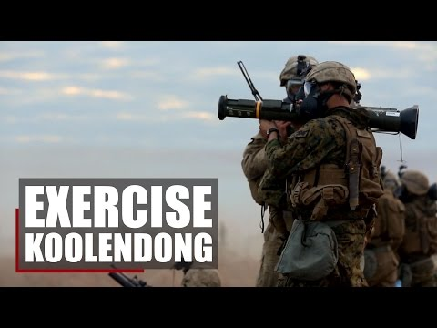 Marine Rotational Force-Darwin | Exercise Koolendong 16