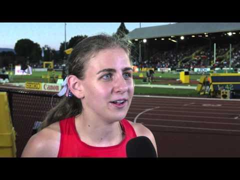IAAF World Junior Championships 2014 - Mary CAIN USA 3000m Women Gold